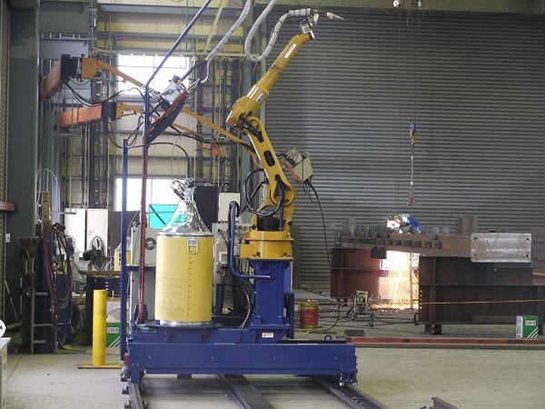 柱大組みロボット 神戸製鋼