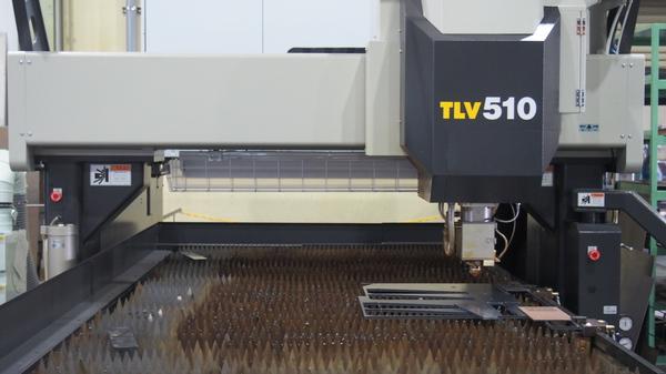 コマツNTC 二次元レーザー加工機 TLV510